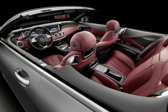 El Mercedes-Benz Clase S Cabriolet posee lo último en sistemas de protec...