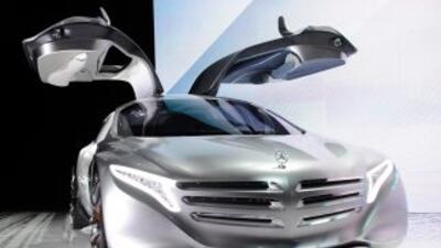 Mercedes-Benz fue una de las marcas que presentó sus novedades tecnológi...