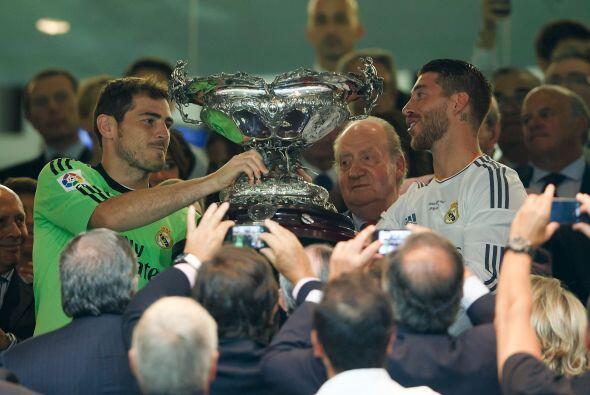 El Trofeo Santiago Bernabéu se quedó en casa y Casillas, que en el prime...