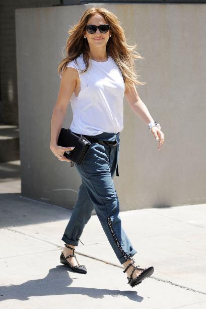 Del 'look' de Jennifer Lopez lo único que podemos decir es: ¡maravilloso...