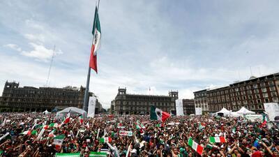 Así se celebró en tierra mexicana el triunfo del 'Tri' ante Alemania en el Mundial