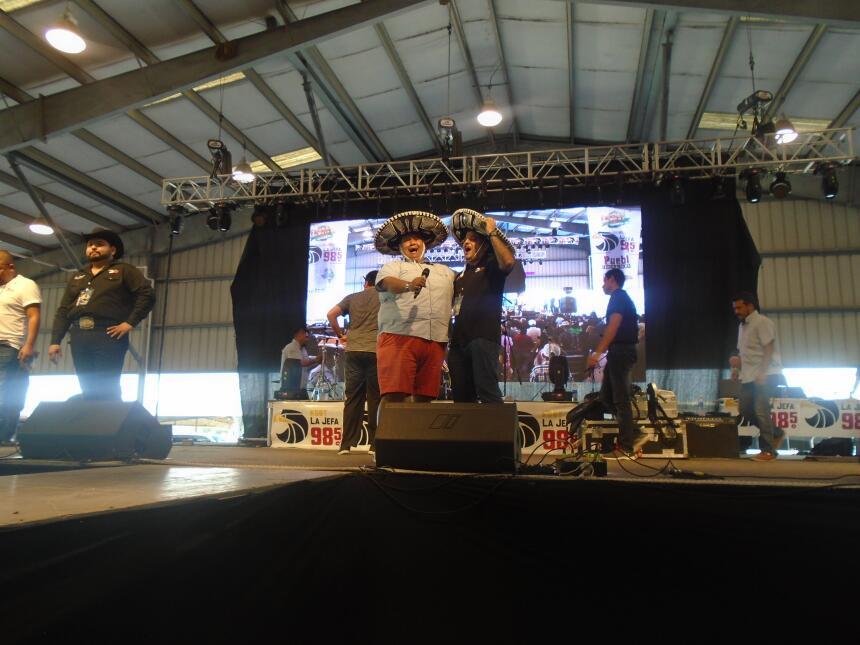 La familia de Univision McAllen en Fiestas Patrias 2016 DSC02861.JPG