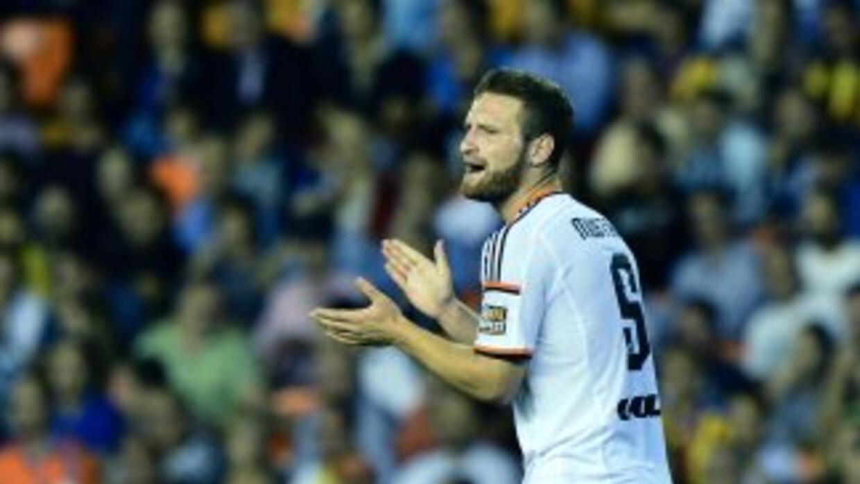 El alemán Mustafi anotó el primero del Valencia.