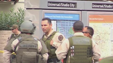 Nueva amenaza terrorista pone en vilo al sistema del metro en Los Ángeles