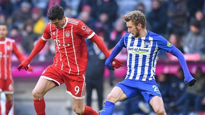 Al Bayern Múnich se le olvidó cómo anotar e iguala sin goles ante el Hertha Berlín