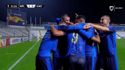¡GOOOL! David Faupala anota para Apollon Limassol