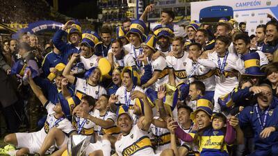 Boca Juniors es campeón en Argentina