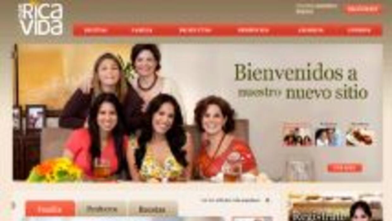 Con más fuerza, el nuevo sitio de QueRicaVida.com se lanzó para brindar...