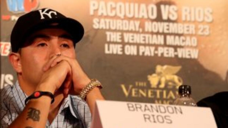Brandon Ríos cree que ganará apoyo entre los chinos.