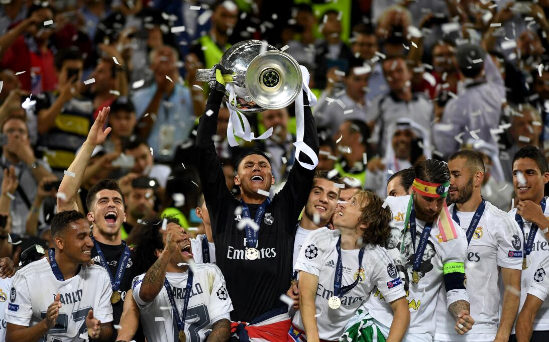 Keylor Navas: el 'muro' de Costa Rica que es figura con Real Madrid Gett...