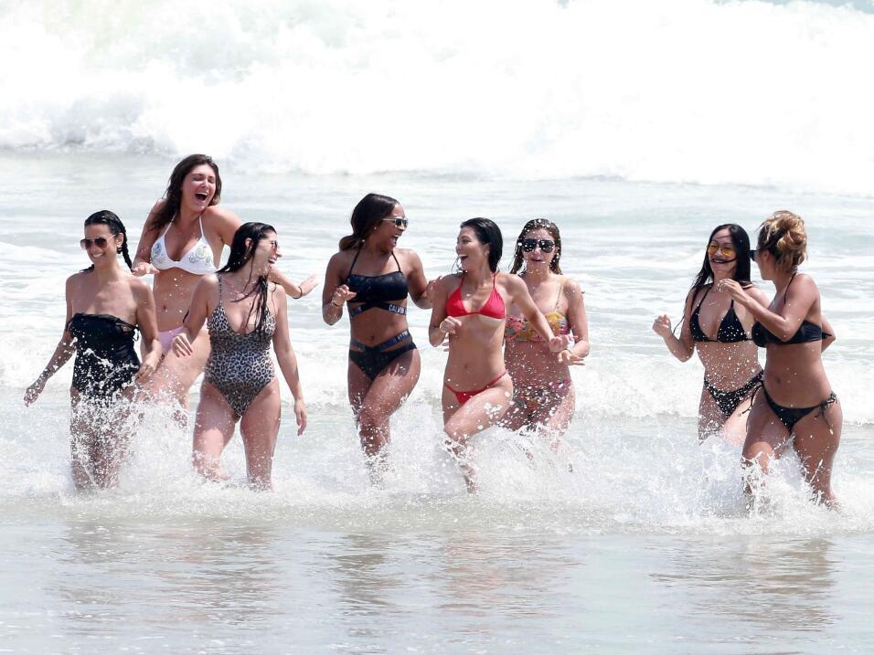 Kim Kardashian pasó el fin de semana del 22 de abril de 2017 en e...