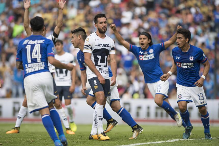 ¡Masacre en la Corregidora! Cruz Azul aplastó a Pumas gol-felipe-mora-4.jpg