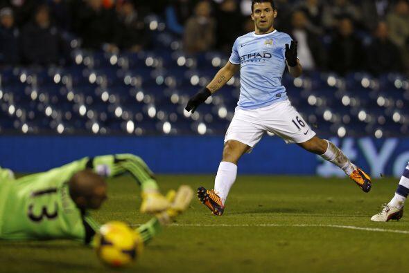 El Manchester City visitaba al West Bromwich Albion y el argentino Sergi...