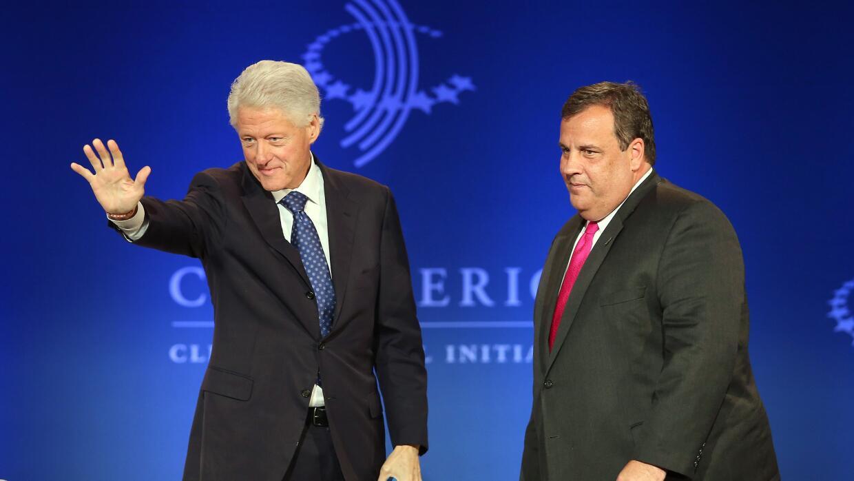 Christie y Clinton