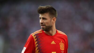 Piqué confirma que se retira de la selección española