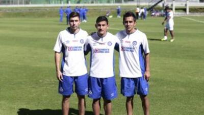 José Villarreal, Michael Farfán y Javier Ramírez fueron presentados con...