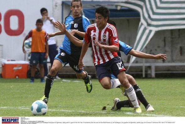 José David Ramírez (5).-Jovencito con muy buenas condiciones, pero entró...