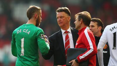 Van Gaal volvió a dejar a David de Gea fuera de la convocatoria del United.