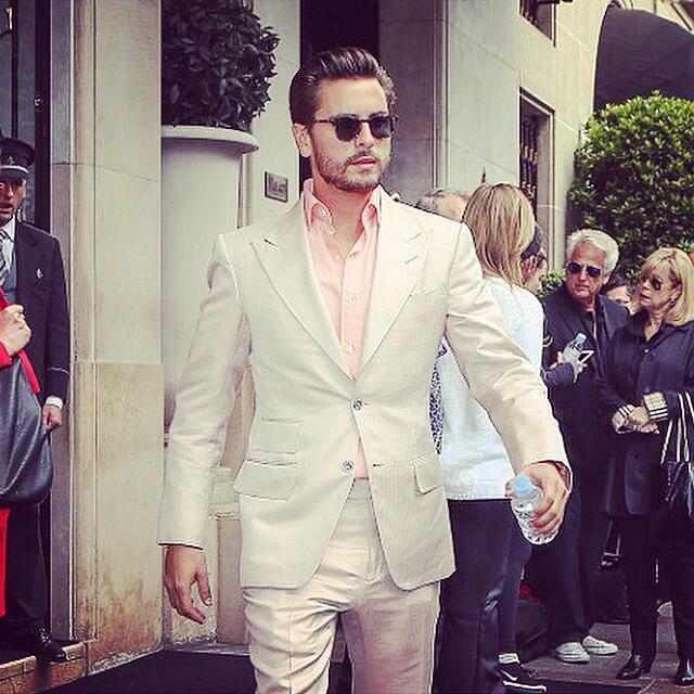 Scott Disick, el papito más fashionista