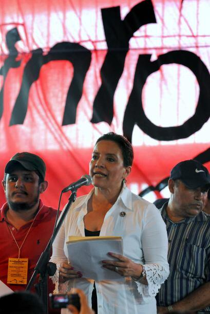 El ex presidente Zelaya  es el coordinador general del FRNP.