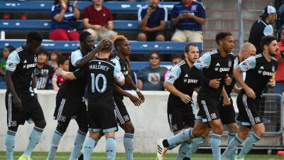 Chicago Fire celebra pase en la US Open Cup