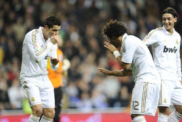 El astro portugués cristalizó un error del Espanyol para hacer el 1-0.
