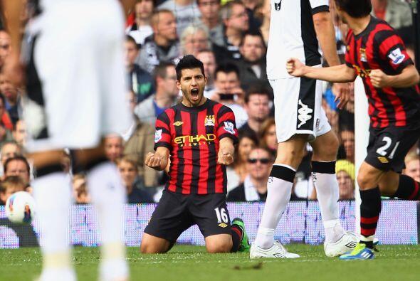 Los 'Citizens' se adelantaron con un gol de Sergio Agüero.