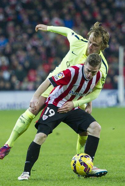 Parecía que el Bilbao ya no se iba a levantar con el 1-4 en contra.