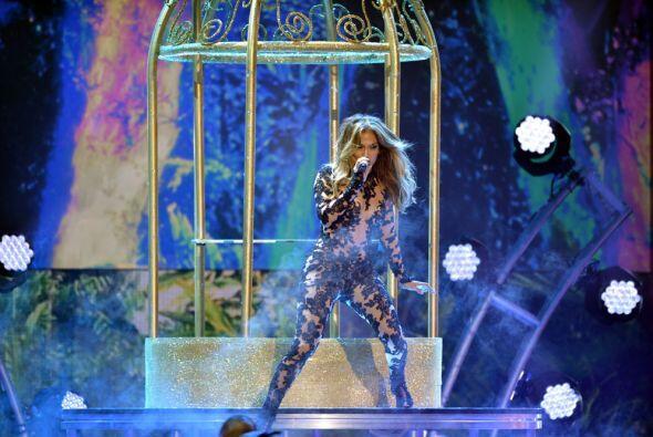 Se trata de Jennifer Lopez, ¡toda una belleza!