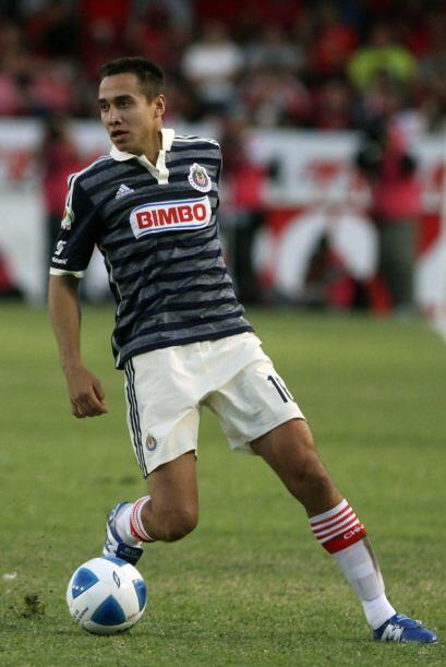 Carlos Rodríguez: El defensa lateral izquierdo de Chivas ha pisad...