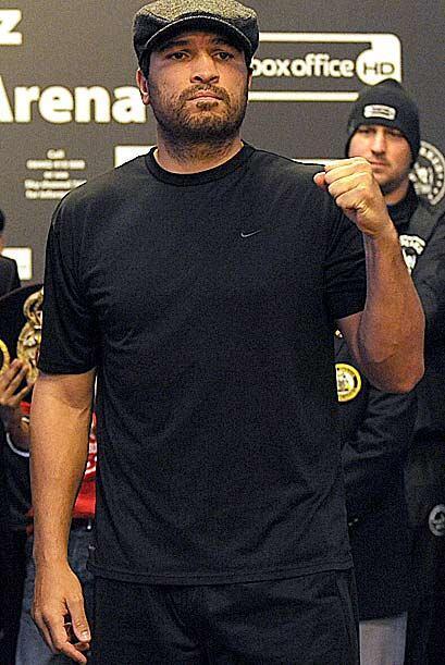 El boricua John Ruiz pesó nueve más, al registrar 231 libras.