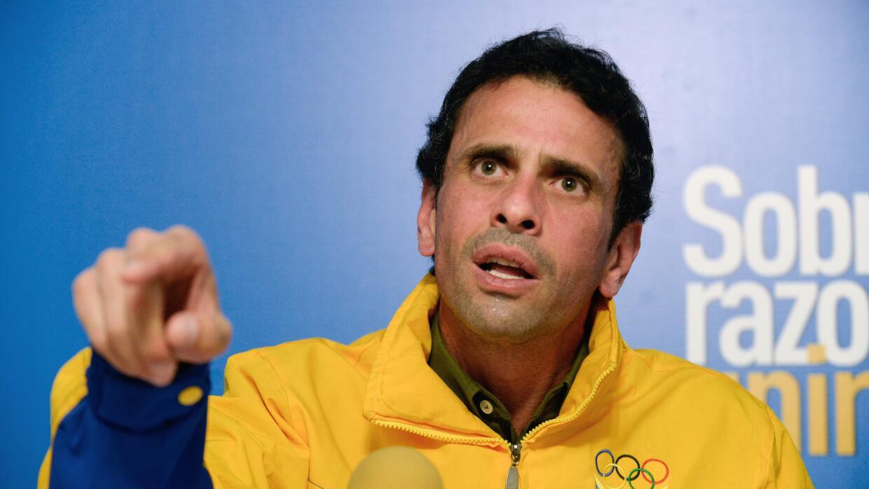Henrique Capriles, gobernador opositor venezolano