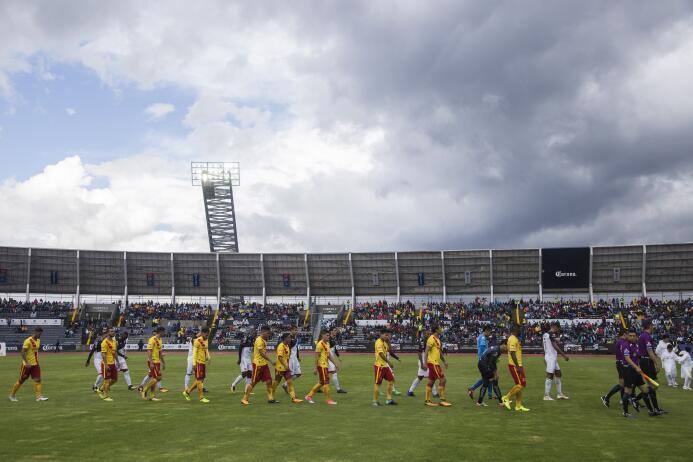 Estadio Universitario BUAP: 12,623 espectadores