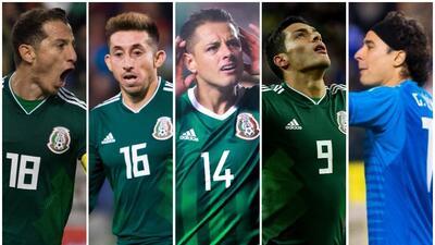 ¿Con boleto confirmado a Rusia? Los jugadores que Osorio tendría en mente para el Mundial