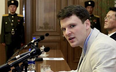 Video: El joven estadounidense liberado por Corea del Norte estaría en coma