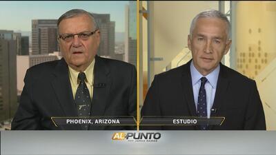Las razones por las que el alguacil Joe Arpaio apoya a Donald Trump