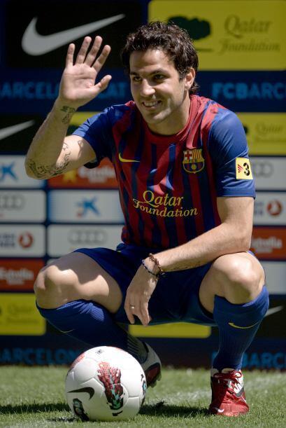 Las clásicas imágenes del futbolista para los fotógrafos.