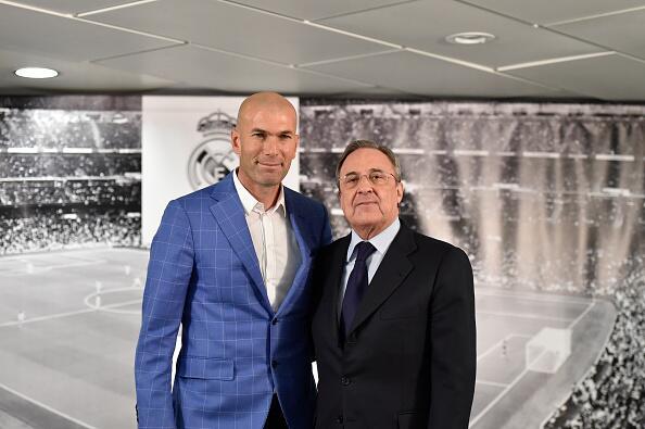 Presentación de Zidane como DT del Madrid