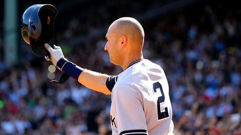 Jeter ganó cinco títulos de Serie Mundial
