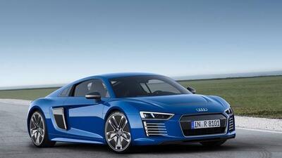 El nuevo Audi R8 tendrá versión eléctrica con 460 caballos de fuerza.