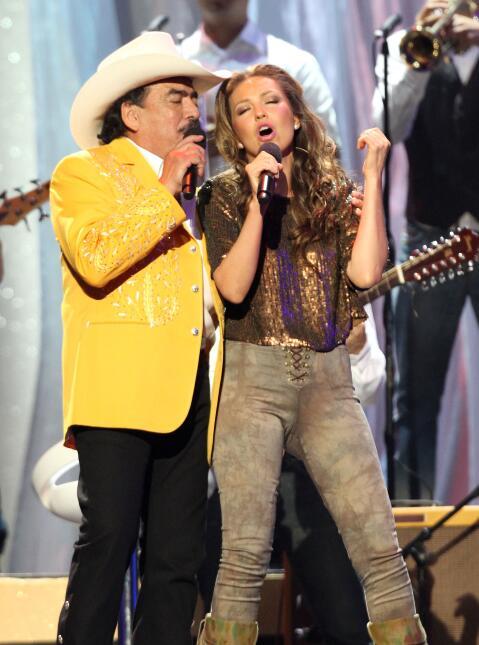 Joan Sebastian y Thalia