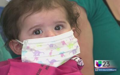 Bebé recibe trasplante de corazón en Miami