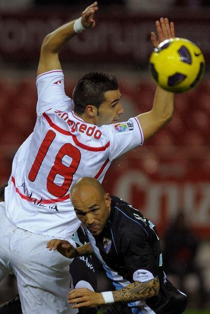 Alvaro Negredo logró el empate momentáneo, aunque más tarde Owusu-Abeyie...