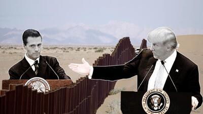 Trump and Pena Nieto phone call graphic