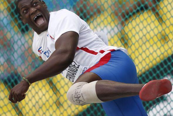 El cubano Jorge Yadian Fernández se quedó con el oro en la...