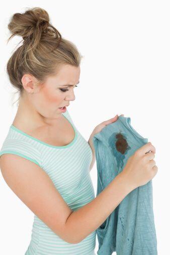 Recuerda, si ensuciaste una prenda con alguna mancha difícil, es mejor q...