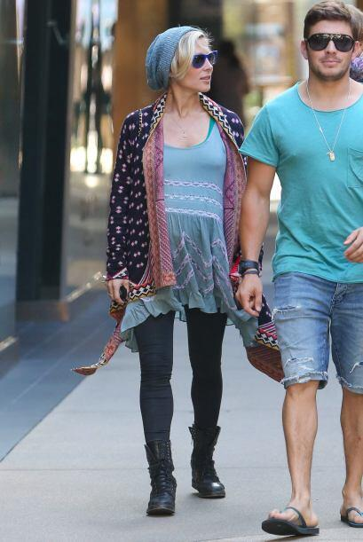 La hermosa española, Chris Hemsworth y su pequeña India pasaron un agrad...