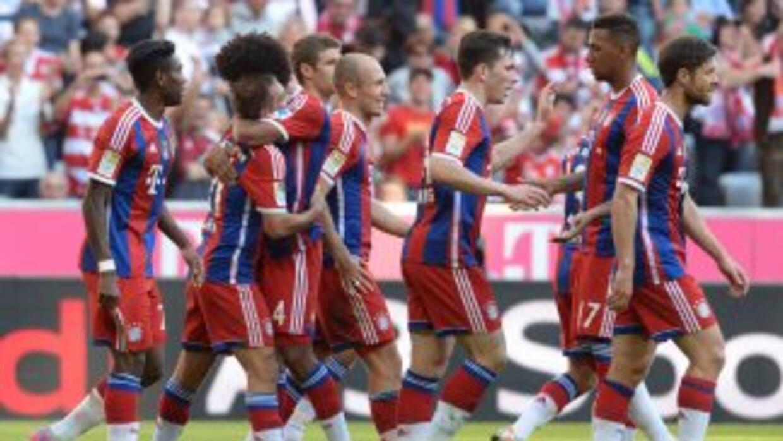 Bayern le hizo media docena al Werder Bremen.