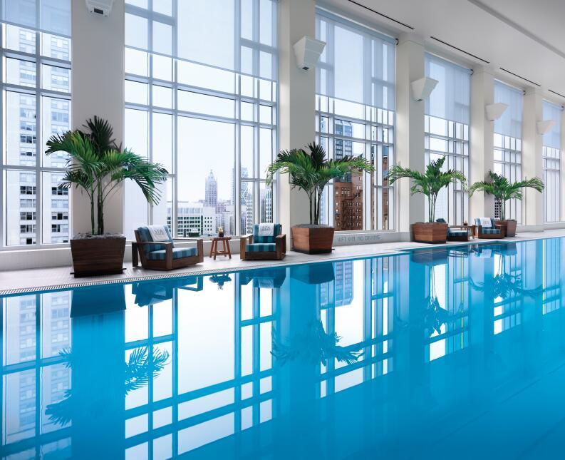 El Península, ha sido catalogado como el mejor hotel de Chicago