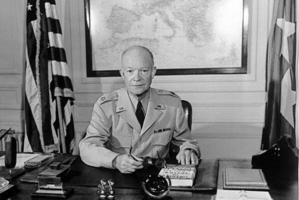 # -34 Dwight D. Eisenhower. Mandato desde 20 de enero de 1953 y hasta 20...